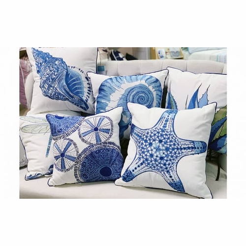 Blue Agave Outdoor Pillow