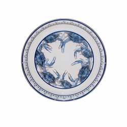 Blue Crab Large Tray with Collapsable Table Option