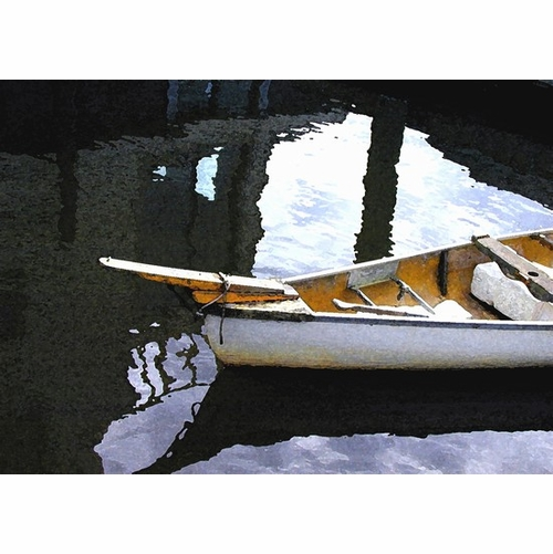 Bow in the Water Print