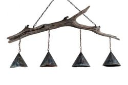 Brays Island Driftwood 4-Light Chandelier