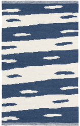 Briar Blue Woven Wool Rug <font color=a8bb35>NEW</font>