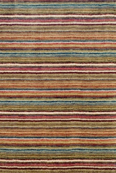 Brindle Stripe Spice Loom Knotted Rug 15% Off