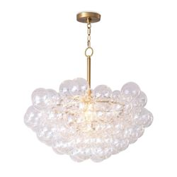 Bubbles Glass Chandelier - Two Options