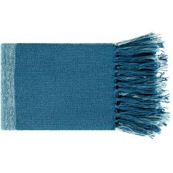 Bufflonne Aqua Blue Throw