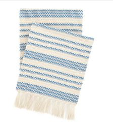 Cade French Blue Throw *New