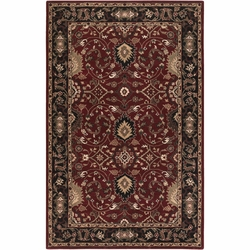 Caesar Burgundy Hand Tufted Rug <font color=a8bb35> NEW</font>