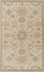 Caesar Light Gray Hand Tufted Rug <font color=a8bb35> NEW</font>