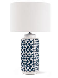 Cailee Ceramic Table Lamp <font color=a8bb35> NEW</font>
