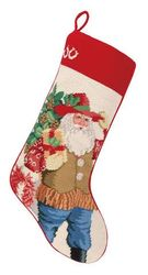 Caliente Santa Christmas Stocking<font color =a8bb35> Sold out</font>