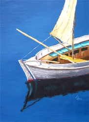 Robin Rowe's Calm Waters Giclee