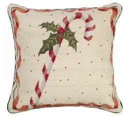 Candy Cane Pillow <font color=a8bb35> NEW</font>