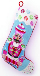Candy Vision Nutcracker Christmas Stocking<font color =a8bb35> Sold out</font>