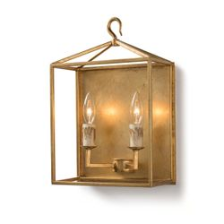 Cape Sconce in Two Colors