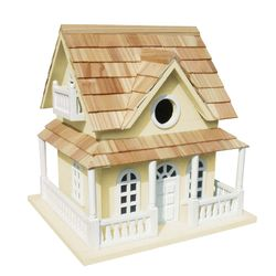 Cape May Cottage Birdhouse <font color=a8bb35>New</font>