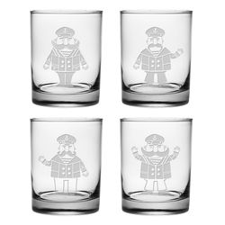 Captain Mario DOR Glass-Set of 4 *NEW