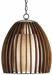 Carling Fruitwood Pendant Light