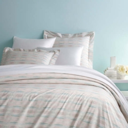 Carolina Percale Pink Duvet Cover