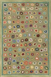 Cat's Paw Micro Hooked Wool Rug - Sage 15% Off