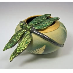 Ceramic Dragonfly Bowl