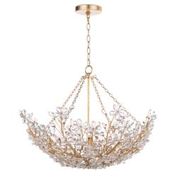 Cheshire Basin Chandelier <font color=a8bb35>NEW</font>