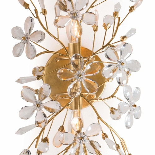 Cheshire Sconce in Gold