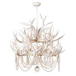 Cheyanne Antler Chandelier  <font color=a8bb35>NEW</font>