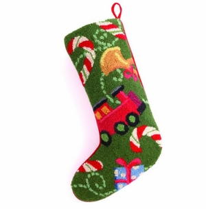 Christmas Gi's Hook Stocking<font color =a8bb35> Sold out</font>