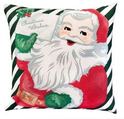 Christmas Wishes Pillow  <font color=a8bb35> NEW</font>