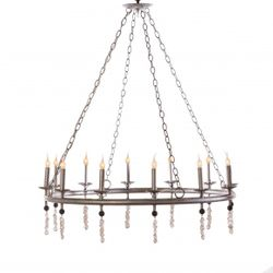 Circular 12-Light Candelabra Chandelier<font color=a8bb35> NEW</font>