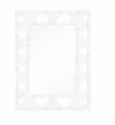 Claire Mirror White