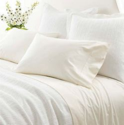 Classic Hemstitch Ivory Sheet Set