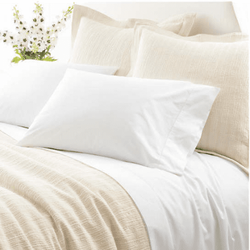Classic Hemstitch White Sheet Set <font color=a8bb35>NEW</font>