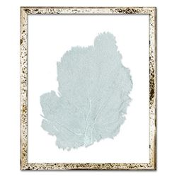 Classic Sea Fan Beach Wall Art - Blue Haze