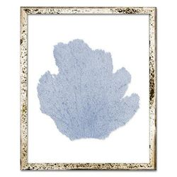 Classic Sea Fan Beach Wall Art - Periwinkle Blue <font color=cf2317> NEW</font>