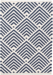 Cleo Navy Indoor/Outdoor Rug