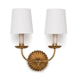 Clove Sconce Double