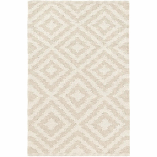 Clover Cement Cotton Woven Rug *Sold out