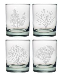 Coral Assortment DOR Glasses Set of Four