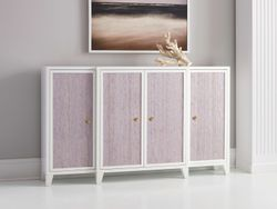 Costa Breakfront Cabinet <font color=a8bb35> NEW</font>
