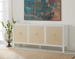 Costa Three Door Credenza <font color=a8bb35> NEW</font>