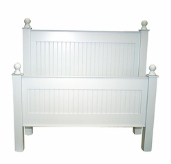 Cottage Beadboard Bed or Headboard