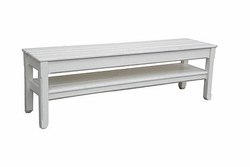 Cottage Planked Console Bench