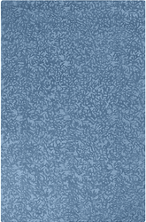 Crackle Blue Iris Hand Tufted Rug <font color=a8bb35> NEW</font>