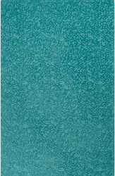 Crackle Peacock Hand Tufted Rug <font color=a8bb35> NEW</font>