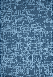 Crosshatch Hand Tufted Rug <font color=a8bb35> NEW</font>