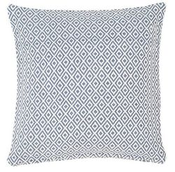 Crystal Denim/Ivory Indoor/Outdoor Pillow<font color=a8bb35> Backorder</font>