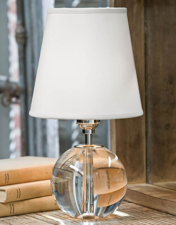 Crystal Orb Mini Sphere Table Lamp For