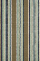 Blue Heron Stripe Indoor/Outdoor Rug