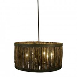 Daufuski Marsh Grass Drum Pendant Light
