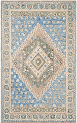 Denim Daze Hand Tufted Rug <font color=a8bb35> NEW</font>